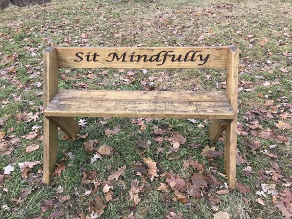 sit mindfully
